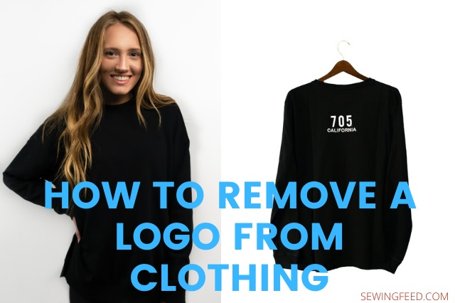 HOW TO REMOVE A LOGO FROM CLOTHING