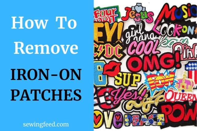 How to Remove Iron on Patches