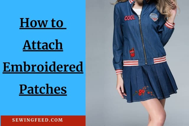 How to Sew a Patch on Jeans