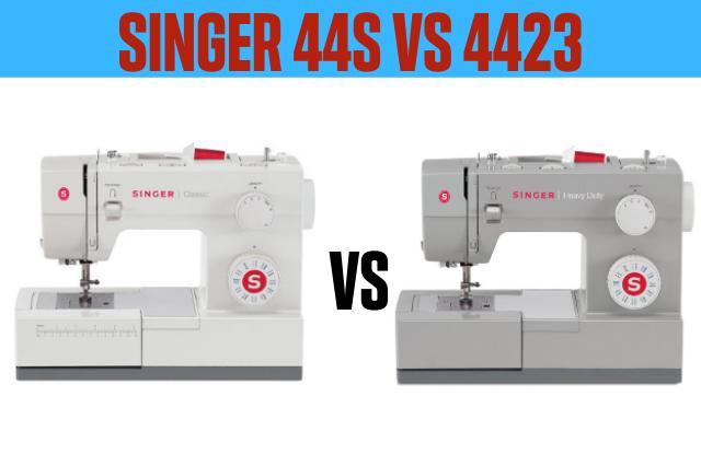 SINGER 44s vs 4423
