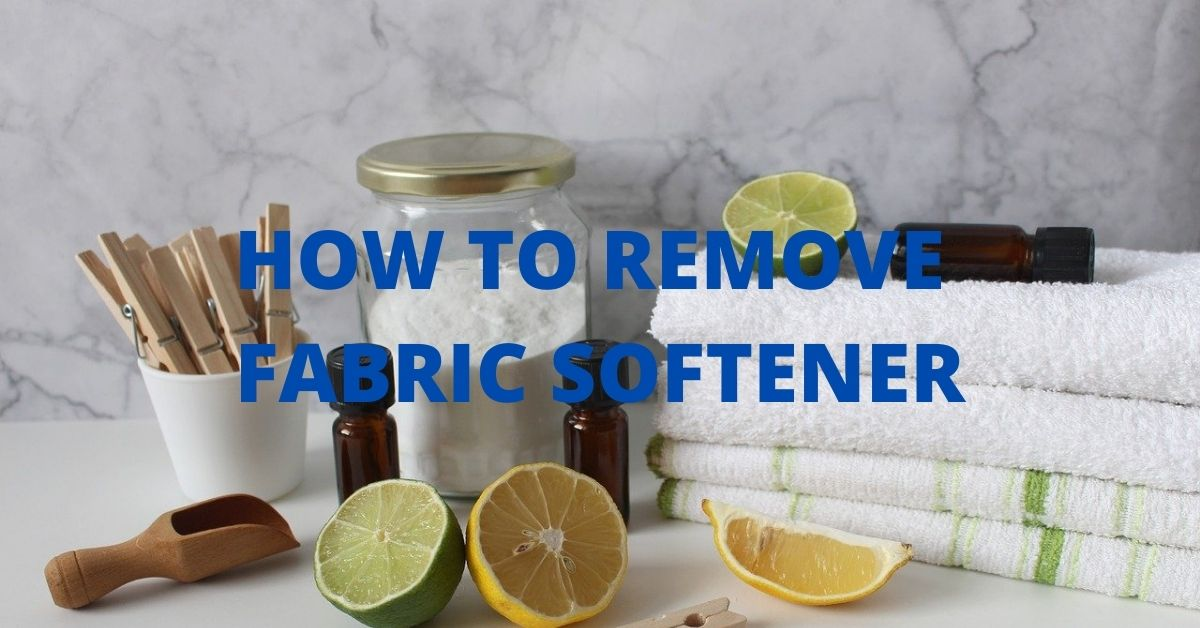 How to Get Fabric Softener Smell Out of Clothes