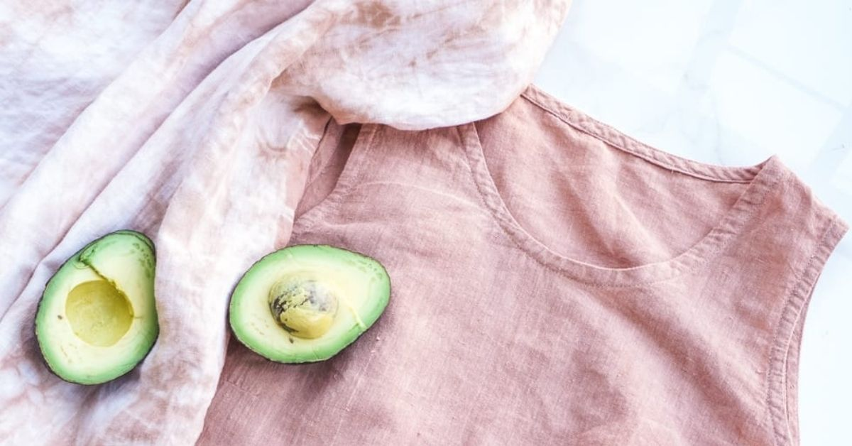 How to get avocado out of clothes
