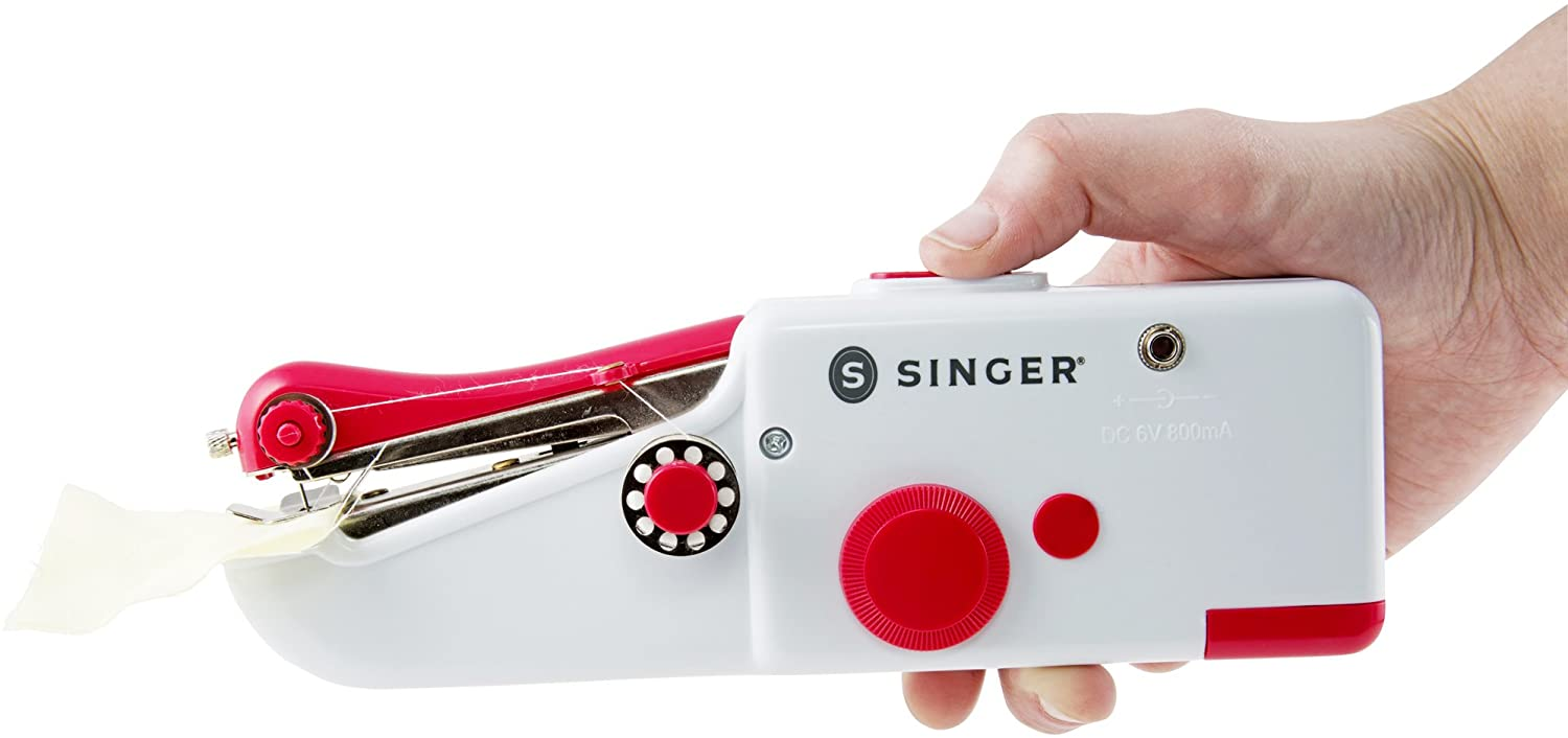how to thread a singer handheld sewing machine