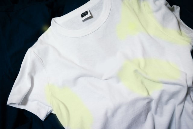 how to remove yellow stains from white clothes