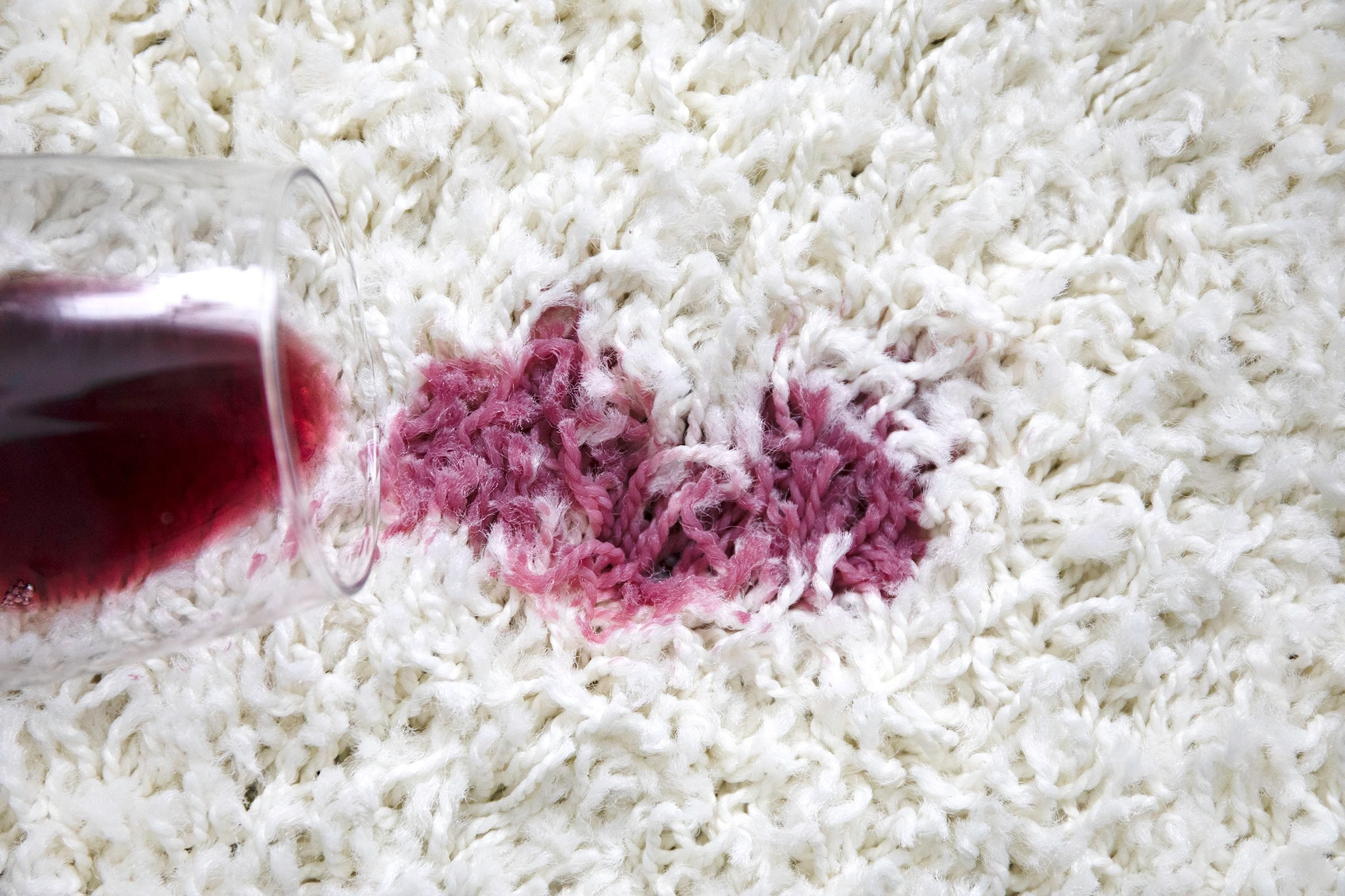 how to get grape juice out of carpet