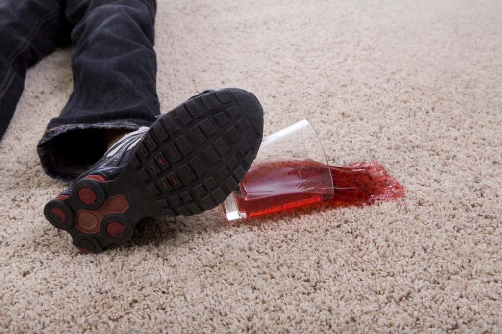 how to get juice out of carpet